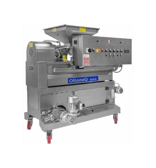 <strong>OLIOMIO GOLD</strong> Produzione oraria 90-100 Kg/h