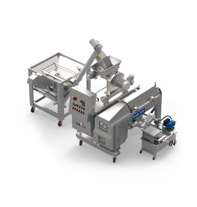 <strong>LINEA PROFY</strong> Hourly production 140-200 Kgs/h