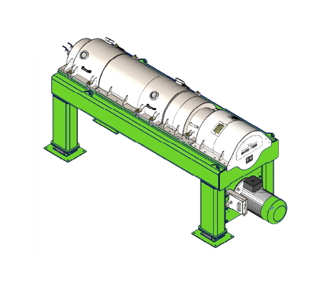 <strong>DECANTER DMT_3000</strong> Produzione oraria 2500-3000 Kg/h