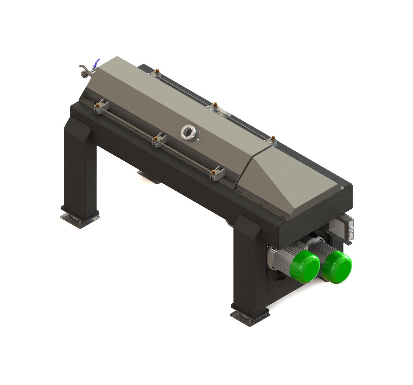 <strong>DECANTER DMX-1000</strong> Produzione oraria 1000-1200 Kg/h